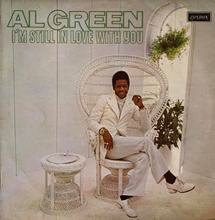 Al Green ‎- I'm Still In Love With You (LP) (G++/G++)